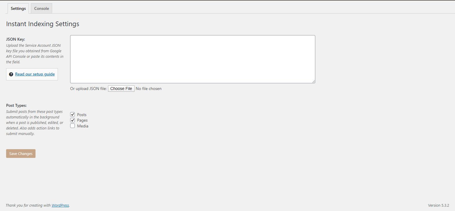 RankMath_InstantIndexingSettingsIssues_Screenshot_01072020
